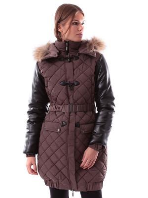 Пальто Sport Vision. Цвет: коричневый