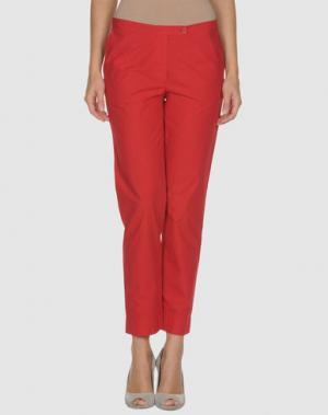 Повседневные брюки RE.SET. Цвет: красный