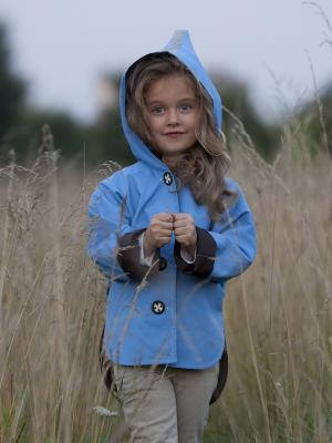 Куртка Авиадиспетчер Sardina Baby. Цвет: голубой, коричневый