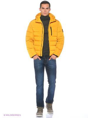 Пуховик Baon. Цвет: светло-оранжевый