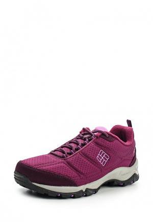 Ботинки трекинговые Columbia. Цвет: фиолетовый
