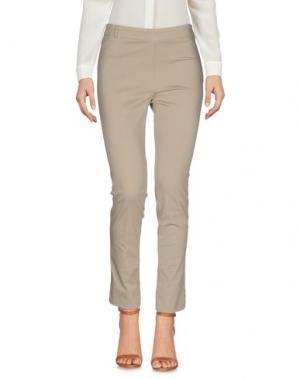Повседневные брюки KILTIE. Цвет: песочный
