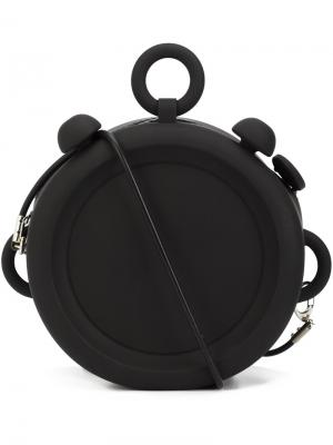 Medium Clock clutch Xiao Li. Цвет: чёрный