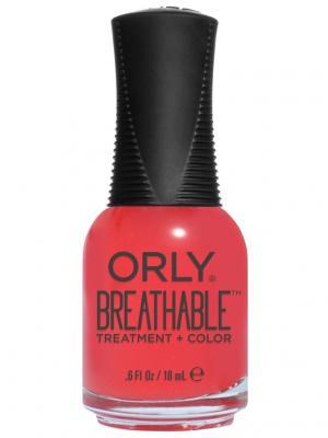 Профессиональный дышащий уход (цвет) за ногтями 916 BEAUTY ESSENTIAL ORLY. Цвет: красный