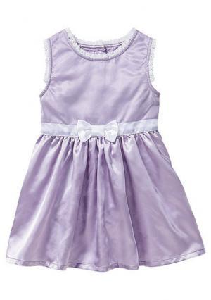 Платье. Цвет: фиалковый/белый