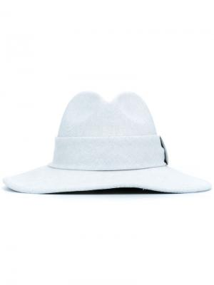 Джинсовая шляпа DressCamp. Цвет: синий