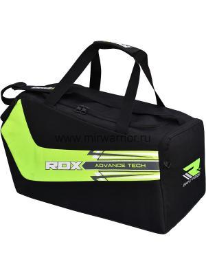 Сумка RDX. Цвет: черный, зеленый