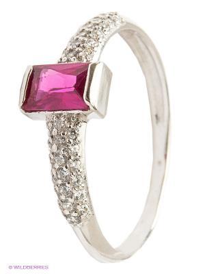 Кольцо Lovely Jewelry. Цвет: серебристый, розовый
