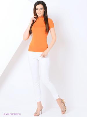 Водолазка RUXARA. Цвет: оранжевый