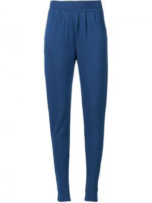 Спортивные брюки Maison Ullens. Цвет: синий