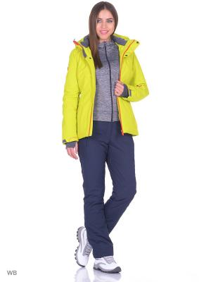 Куртка High Experience. Цвет: салатовый