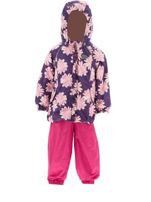 Комплект одежды REIKE. Цвет: фиолетовый