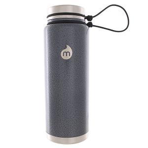 Термокружка  V12 Gray Hammer Paint Sst Lid N Rope Leash Mizu. Цвет: серый,черный