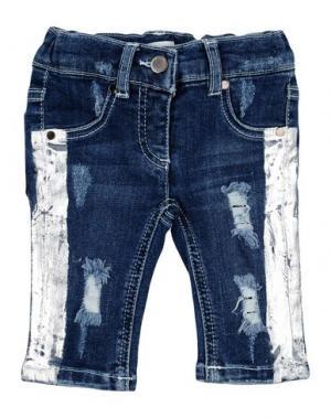 Джинсовые брюки SO TWEE by MISS GRANT. Цвет: синий
