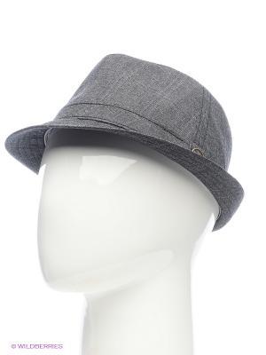 Шляпа Goorin Brothers. Цвет: темно-серый