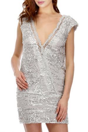 Платье Faust. Цвет: silver