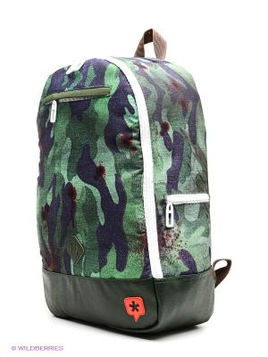 Рюкзак True Spin. Цвет: зеленый