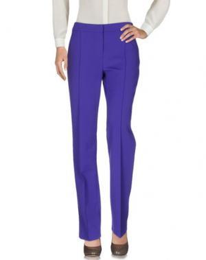 Повседневные брюки CHIARA D'ESTE. Цвет: фиолетовый