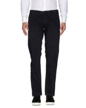 Повседневные брюки QU4TTRO. Цвет: черный