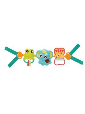 Подвеска Веселое путешествие Playgro. Цвет: зеленый, голубой, оранжевый
