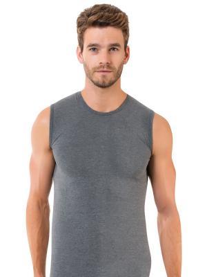 Майка мужская Oztas underwear. Цвет: серый
