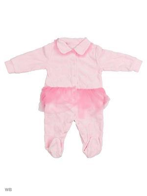 Комбинезон для малышей Mini. Цвет: розовый