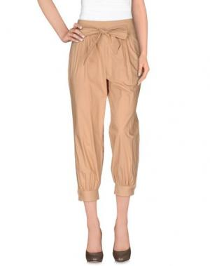 Повседневные брюки INTROPIA. Цвет: хаки