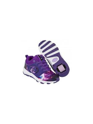 Роликовые кроссовки Heelys Hightail. Цвет: фиолетовый, белый
