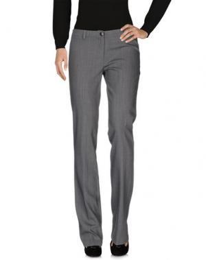 Повседневные брюки CRISTINAEFFE. Цвет: свинцово-серый