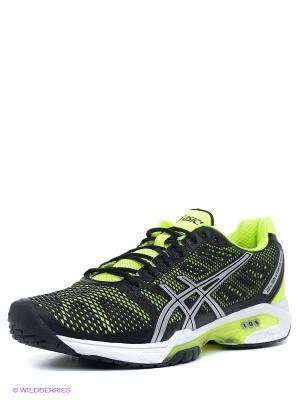 Теннисные кроссовки GEL-SOLUTION SPEED 2 ASICS. Цвет: черный, желтый