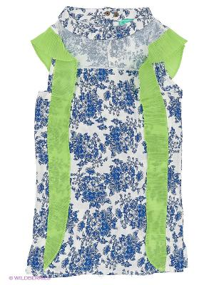 Блузка Nota Bene. Цвет: салатовый