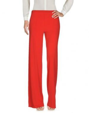 Повседневные брюки PIERRE MANTOUX. Цвет: красный