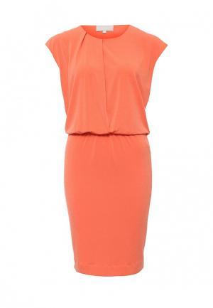 Платье InWear. Цвет: коралловый