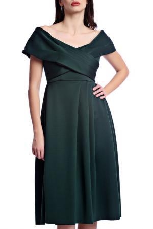 Платье Emma Monti. Цвет: green