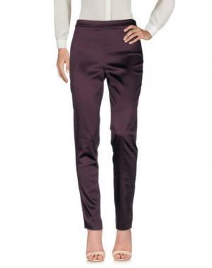 Повседневные брюки ELISA FANTI. Цвет: фиолетовый
