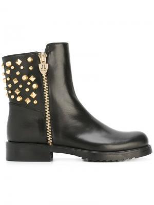 Embellished ankle boots Loriblu. Цвет: чёрный