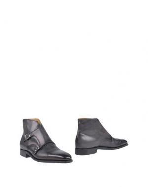 Полусапоги и высокие ботинки SUTOR MANTELLASSI. Цвет: серый