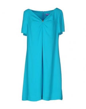Короткое платье 22 MAGGIO by MARIA GRAZIA SEVERI. Цвет: бирюзовый