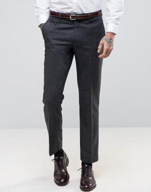 Harry Brown Узкие брюки. Цвет: серый