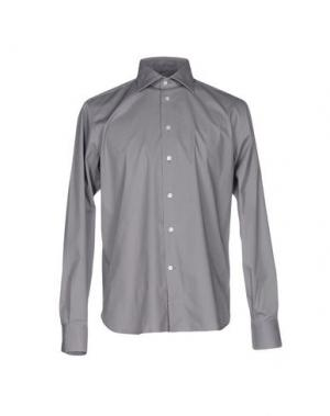 Pубашка BRANCACCIO C.. Цвет: серый