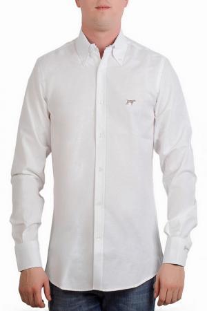 Рубашка CASTELLANISSIMOS. Цвет: белый