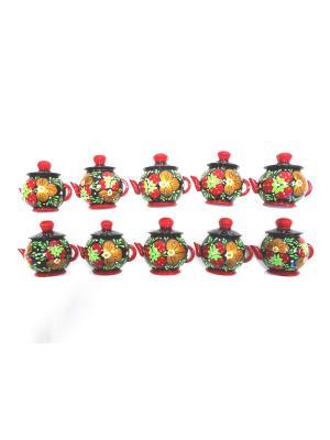 Магниты - Чайники Taowa. Цвет: черный, красный