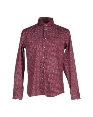 Pубашка NO BRAND. Цвет: пурпурный