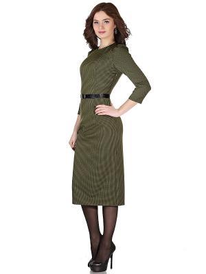 Платья OLIVEGREY. Цвет: зеленый, хаки