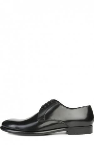 Туфли Milano Dolce & Gabbana. Цвет: черный