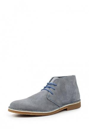 Ботинки Selected Homme. Цвет: синий