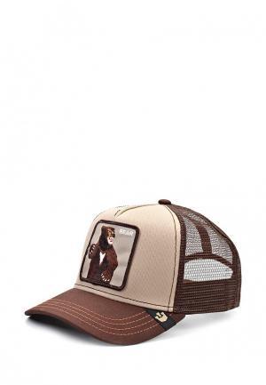 Бейсболка Goorin Brothers. Цвет: коричневый