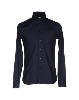 Pубашка NO BRAND. Цвет: темно-синий