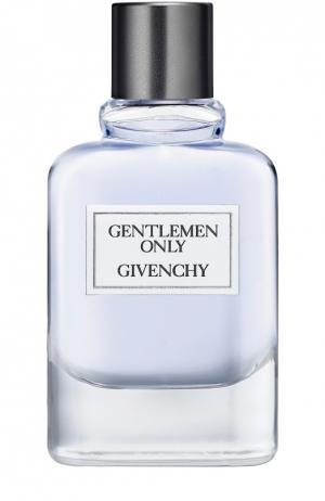 Туалетная вода Gentlemen Only Givenchy. Цвет: бесцветный