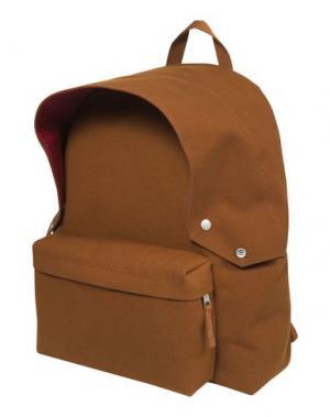 Рюкзаки и сумки на пояс EASTPAK RAF SIMONS. Цвет: ржаво-коричневый